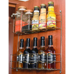 Various Tier Spice Rack for Inside of Door