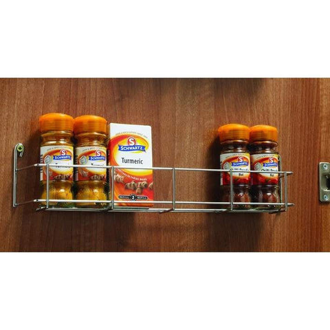 Various Tier Spice Rack for Inside of Door, Storage - Kitchen Suppliers Online