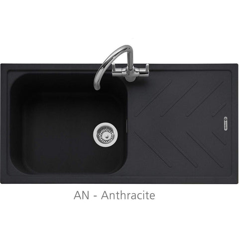 Veis 100 - Granite Sink, Inset with Drainer