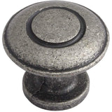 VIKING, 'D' Handle or Knob, Available in Pewter and Antique