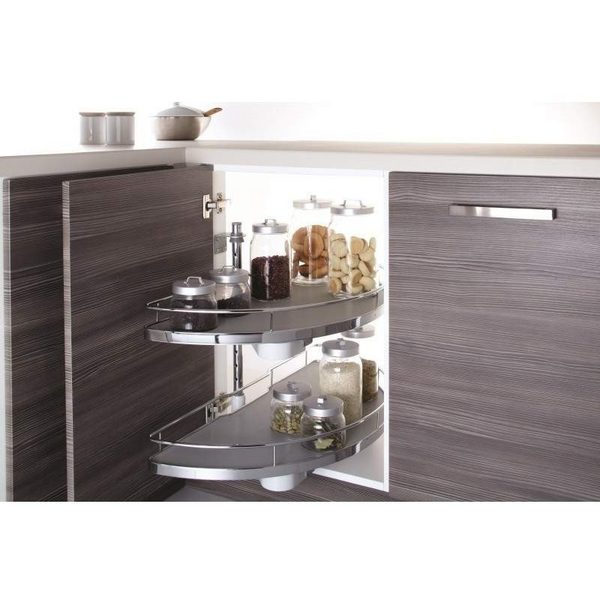 1/2 Corner Carousel By Innostor Plus Luxury Range, 2nd Generation, Storage - Kitchen Suppliers Online