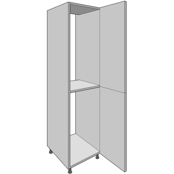 1970mm High Standard Fridge/Freezer Housing, with Shelf, Kitchen Cabinets - Kitchen Suppliers Online