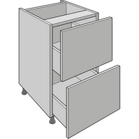 2 Drawer Pack, for 2 x 355mm High Standard Drawers, Various Widths, Kitchen Cabinets - Kitchen Suppliers Online