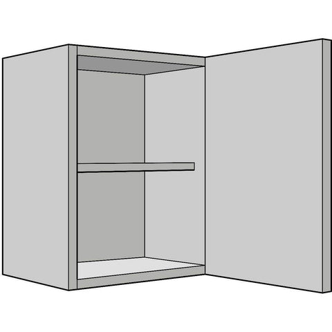 575mm High Wall Unit, Single 330mm Depth, Various Widths, Kitchen Cabinets - Kitchen Suppliers Online