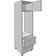 Appliance Housing 1825mm High, 600mm or 900mm Aperture, with Tandembox Drawer, Kitchen Cabinets - Kitchen Suppliers Online