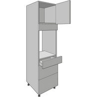 Appliance Housing 1970mm High, With Tandembox Drawers, Kitchen Cabinets - Kitchen Suppliers Online