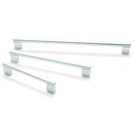 ARIES, Bar Handle in Aluminium, 6 Sizes Available, Handles - Kitchen Suppliers Online