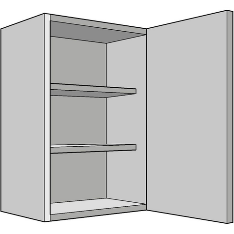 720mm High Standard Wall Unit, Single 300mm Depth, Various Widths, Kitchen Cabinets - Kitchen Suppliers Online
