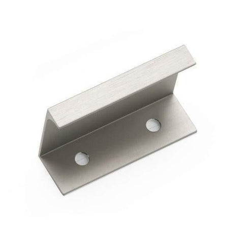 ASTEN, Rear Fixed Handle in Brushed Satin Nickel or Aluminium, Handles - Kitchen Suppliers Online