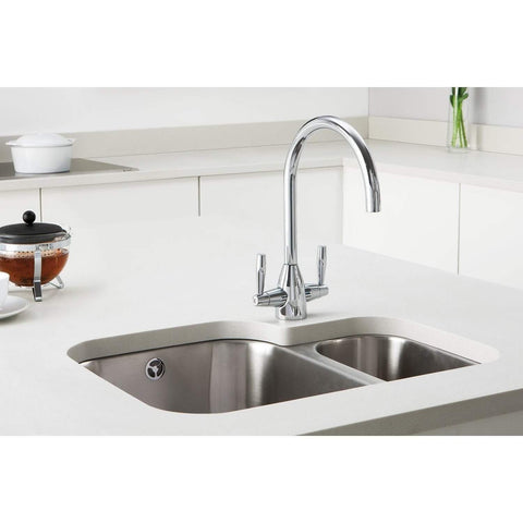 Avel - Monobloc Tap in Chrome, Stainless Steel and Nickel