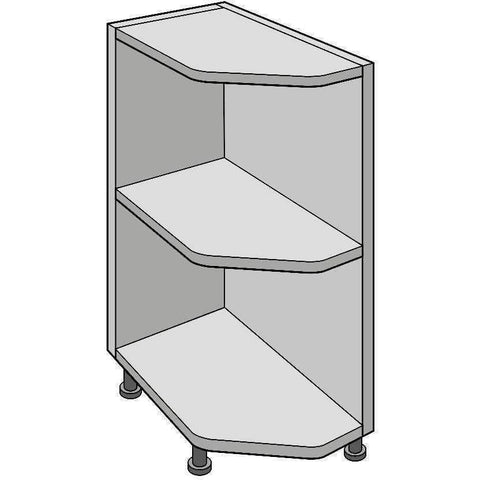 Base Quad 300mm Wide, Open Shelf Unit, Kitchen Cabinets - Kitchen Suppliers Online