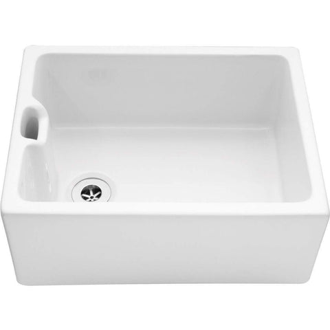Belfast 600 - Sit-on Belfast Sink W595mm, Sinks - Kitchen Suppliers Online