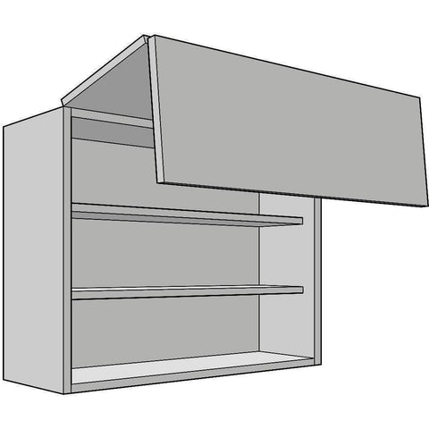 Bi-fold Door Wall Unit 720mm High, 330mm Deep, Various Widths (To Suit Blum Aventos System), Kitchen Cabinets - Kitchen Suppliers Online