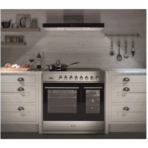 Caple CR9228 Dual Cavity Electric Range Cooker Width 900mm, Appliance - Kitchen Suppliers Online