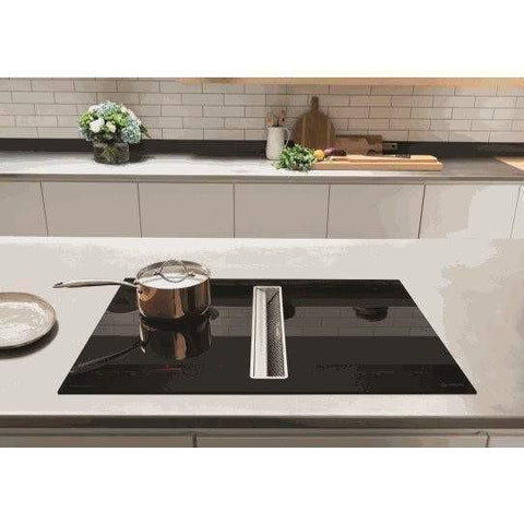 Caple DD940BK Induction Hob with Integrated Downdraft Extractor, Appliance - Kitchen Suppliers Online