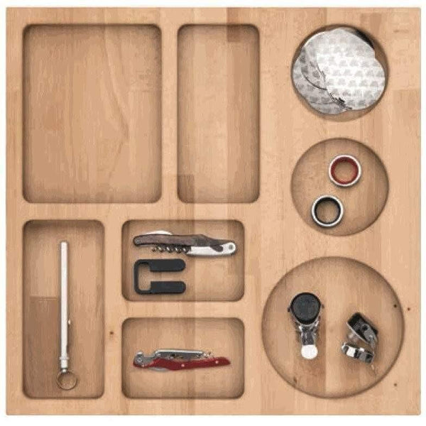 Caple SDWINE Solid Wood Wine Accessory Insert for SD1356 Storage Drawer, Appliance - Kitchen Suppliers Online