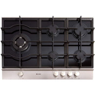 Caple Sense C759G Gas-on-Glass Hob Width 750mm, Appliance - Kitchen Suppliers Online