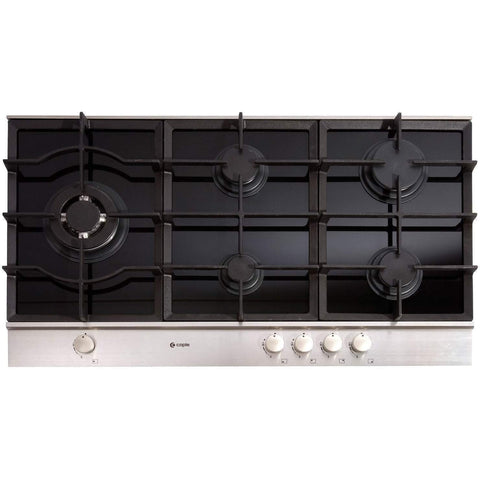 Caple Sense C769G Gas-on-Glass Hob Width 900mm, Appliance - Kitchen Suppliers Online
