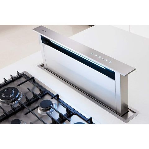 Caple Sense DD911SS Flush Downdraft Hood Width 875mm, Appliance - Kitchen Suppliers Online