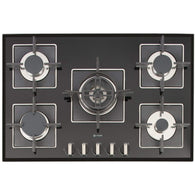 Caple SENSE PREMIUM C870GBK Gas on Glass Hob, Appliance - Kitchen Suppliers Online