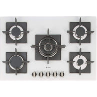 Caple SENSE PREMIUM C870GWH Gas on Glass Hob, Appliance - Kitchen Suppliers Online