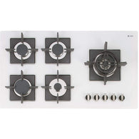 Caple SENSE PREMIUM C880GWH Gas on Glass Hob, Appliance - Kitchen Suppliers Online