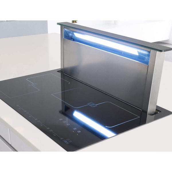 Caple SENSE PREMIUM DD931BK Induction Downdraft Hood, Appliance - Kitchen Suppliers Online