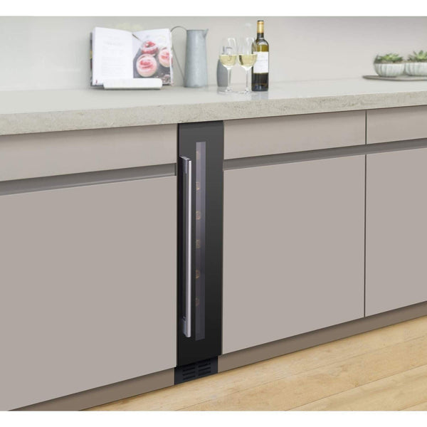 Caple Sense Wi154 Undercounter Single Zone Wine Cabinet Width 145mm, Appliance - Kitchen Suppliers Online