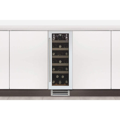 Caple Sense Wi3122WH Undercounter Single Zone Wine Cabinet Width 295mm, Appliance - Kitchen Suppliers Online