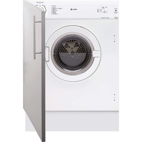 Caple TDi111 Fully Integrated Sensor Tumble Dryer, Appliance - Kitchen Suppliers Online