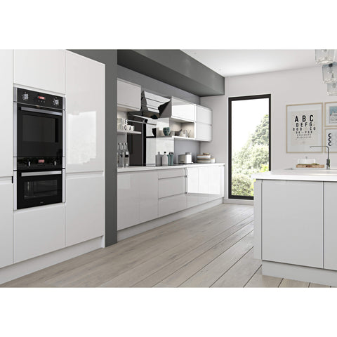 CURVE - 355mm Door Slab No J Handle, 5 Widths, Kitchen Doors - Kitchen Suppliers Online