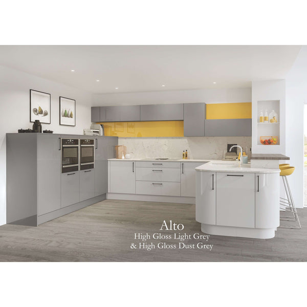 ALTO High Gloss - 715mm High Door, Various Widths, Kitchen Doors - Kitchen Suppliers Online