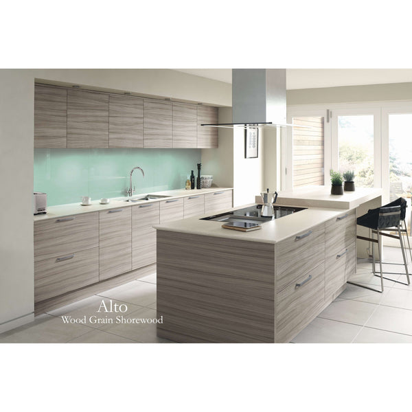 ALTO Woodgrains & Mineral - 140mm High Drawer Front, Various Widths, Kitchen Doors - Kitchen Suppliers Online