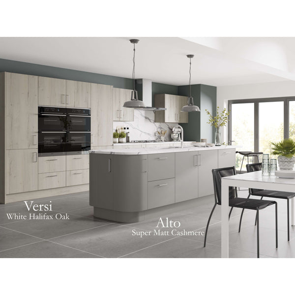 ALTO Super Matt - Flexible Plinth in 3 Widths - Edged 2 Sides, Kitchen Doors - Kitchen Suppliers Online