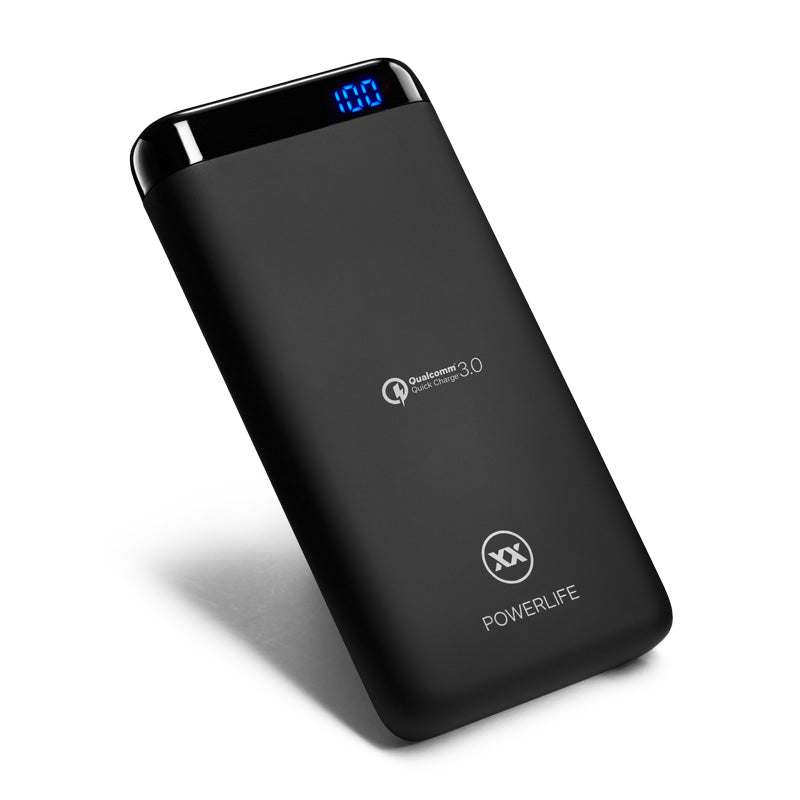 C10 10000mah power bank with QC3