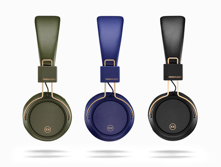 OX2 wireless headphones colour options