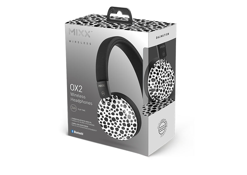 OX2 Bluetooth wireless headphones