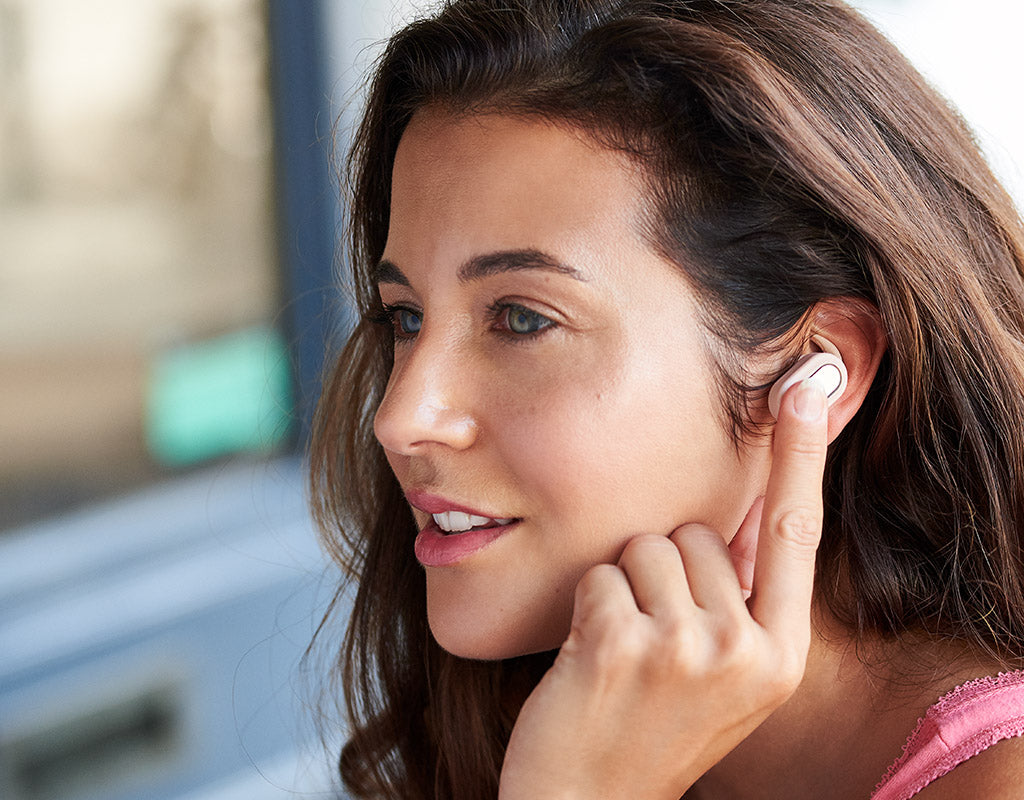 Streambuds true wireless earbuds charging