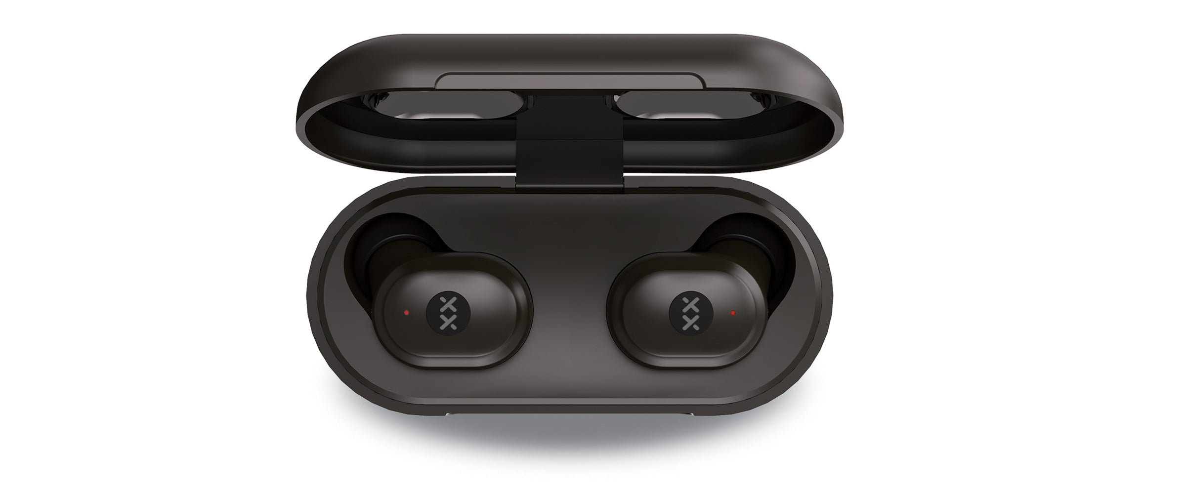 Streambuds LX true wireless earbuds in charging case