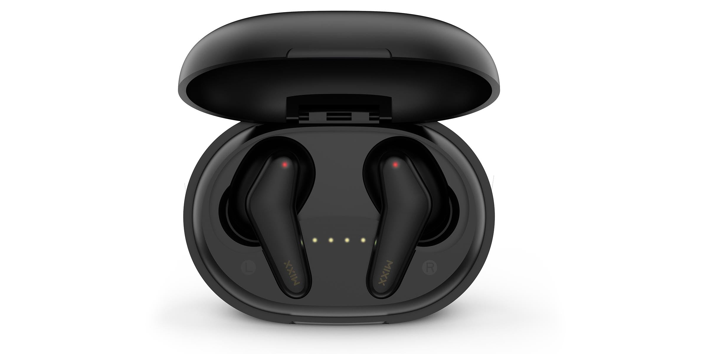 StreamBuds Nano true wireless earbuds in charging case