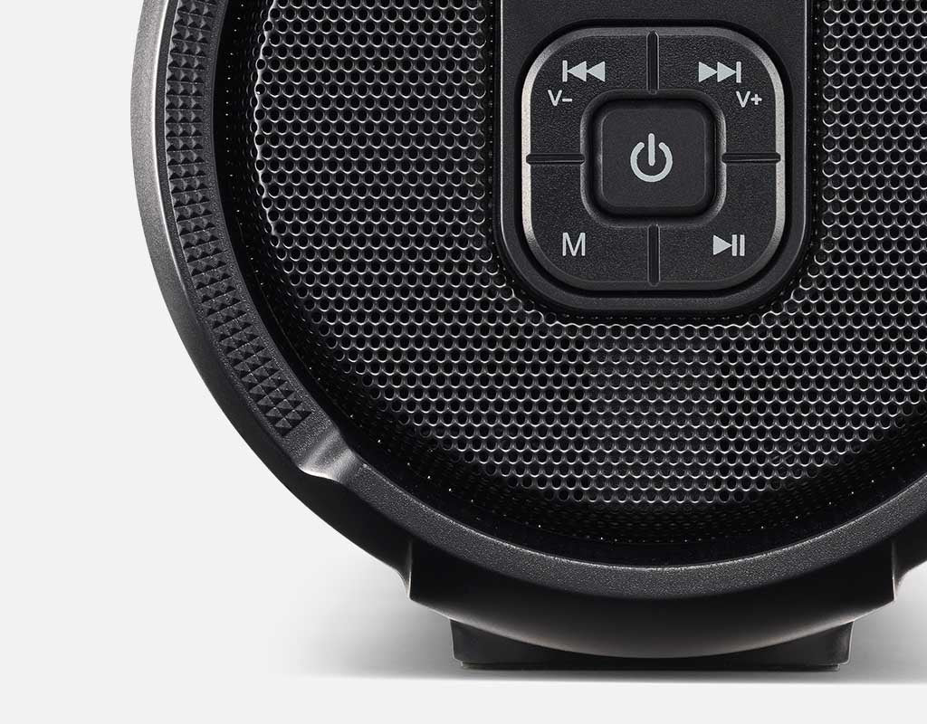 xBoost wireless speaker controls