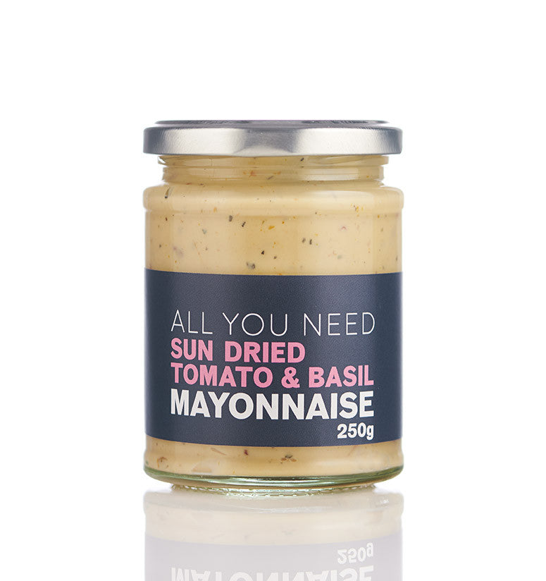 Sun Dried Tomato & Basil Mayonnaise