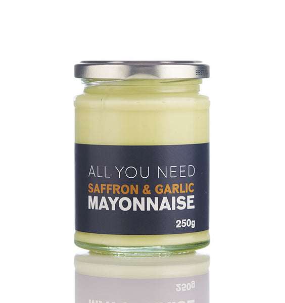 Saffron & Garlic Mayonnaise