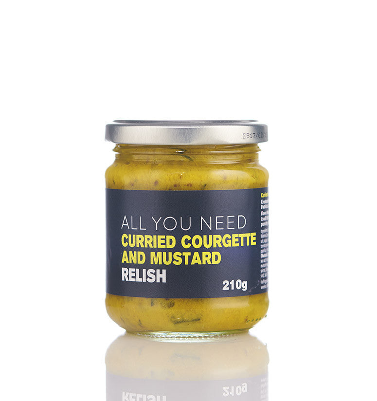 Curried Courgette and Mustard Relish