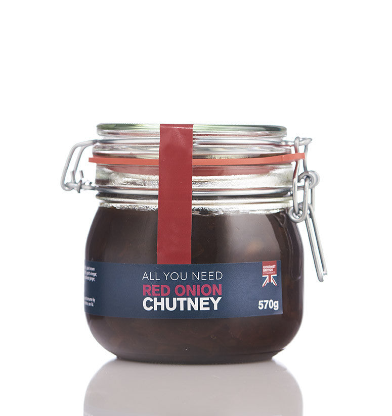 Red Onion Chutney Kilner Jar