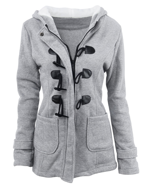 Simple Time Hooded Jacket