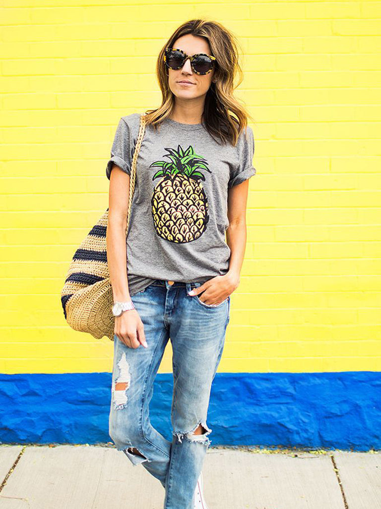 Show Me A Good Time Pineapple Tee