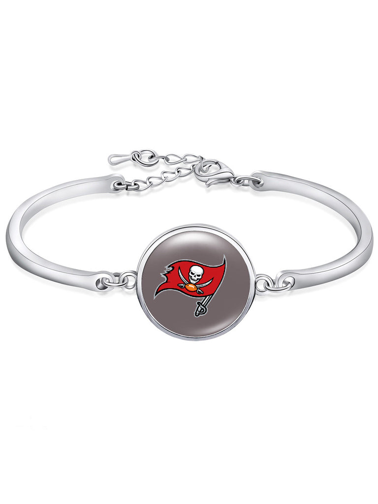 Tempa Bay Buccaneers High-Polish Bracelet NFL bracelet football wristband football bangle