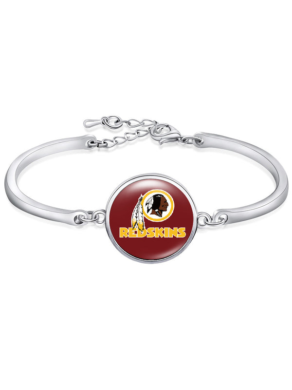 Washington Redskins High-Polish Bracelet NFL bracelet football wristband football bangle