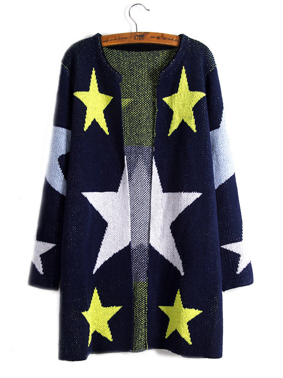 Count Your Stars Long Sleeve Cardigan